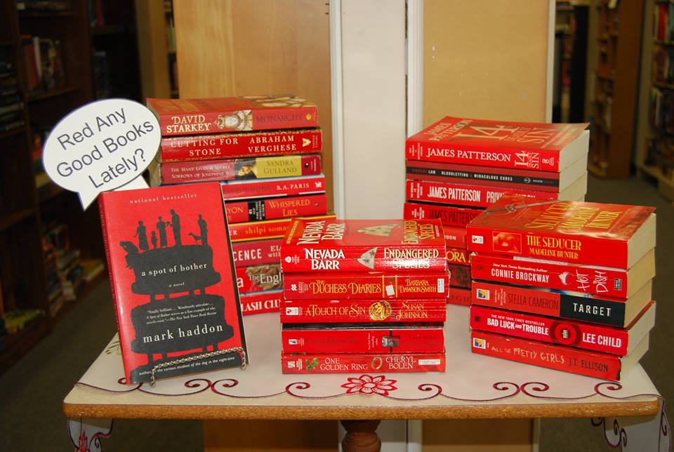 Red and good books