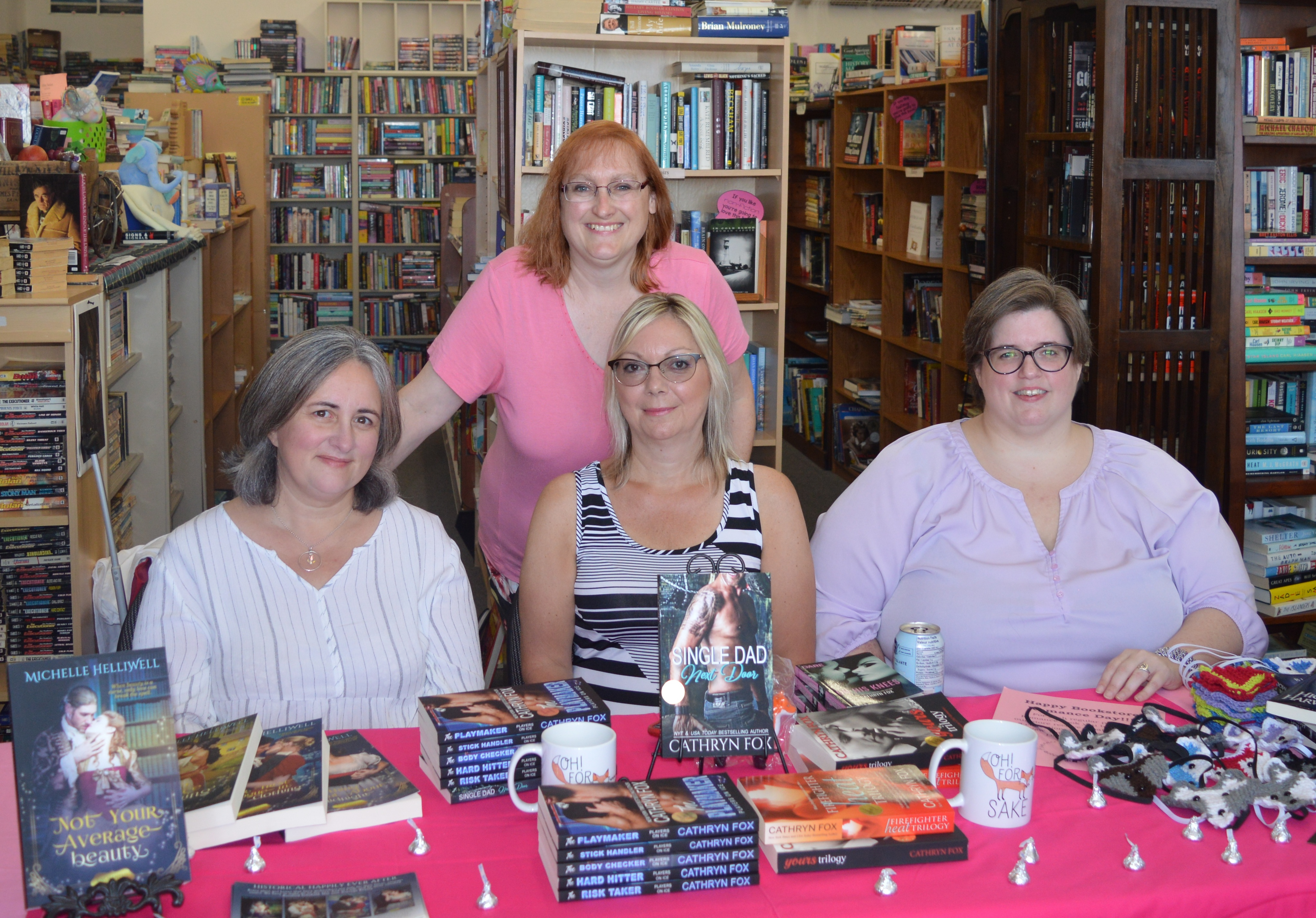 1st Annual Bookstore Romance Day